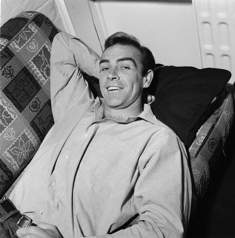 Sean Connery - londoni lakásában