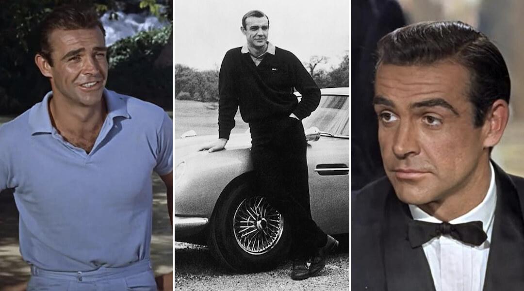 Sir Sean Connery - stílus - filmvásznon és azon túl