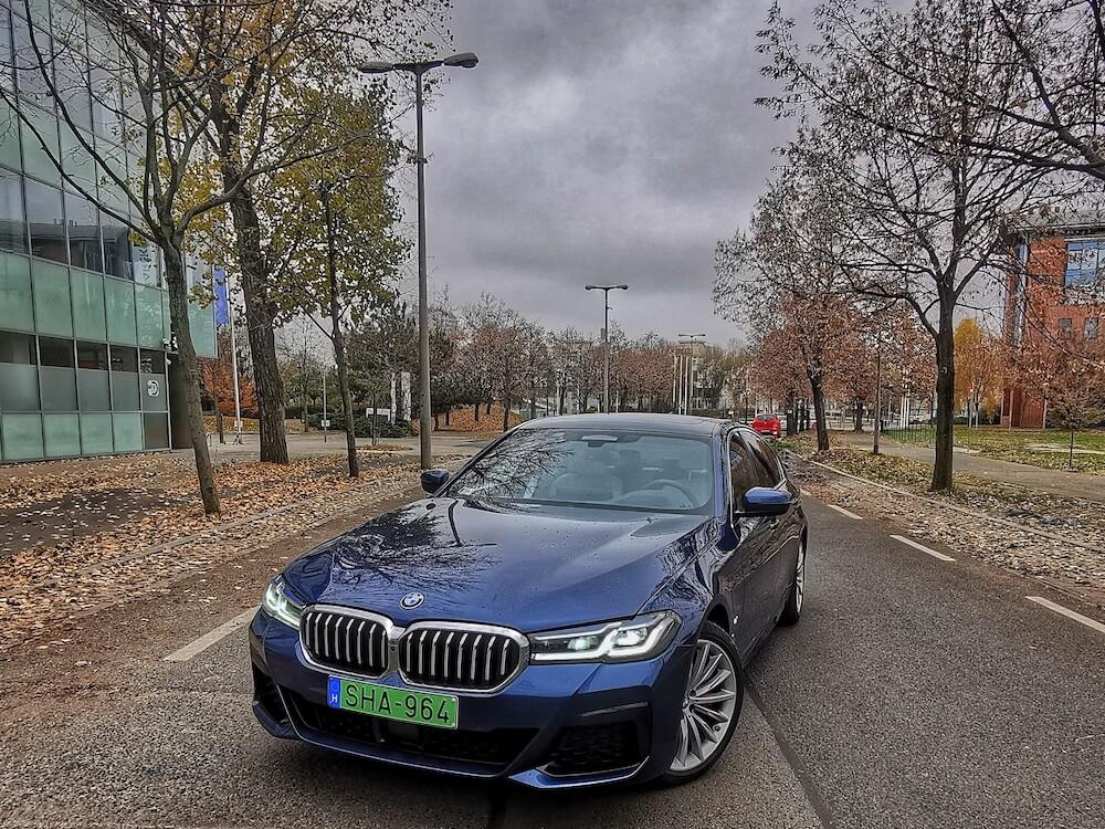 BMW 530e - fogyasztás