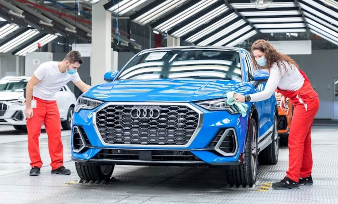 Audi - Győr - 2020
