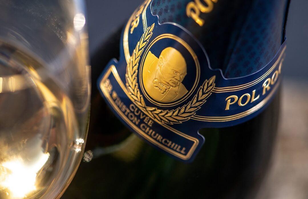 champagne pol roger churchill