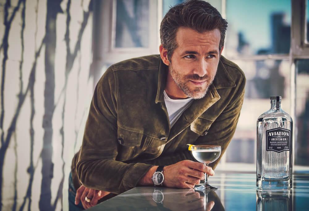 Ryan Reynolds - Aviation American Gin