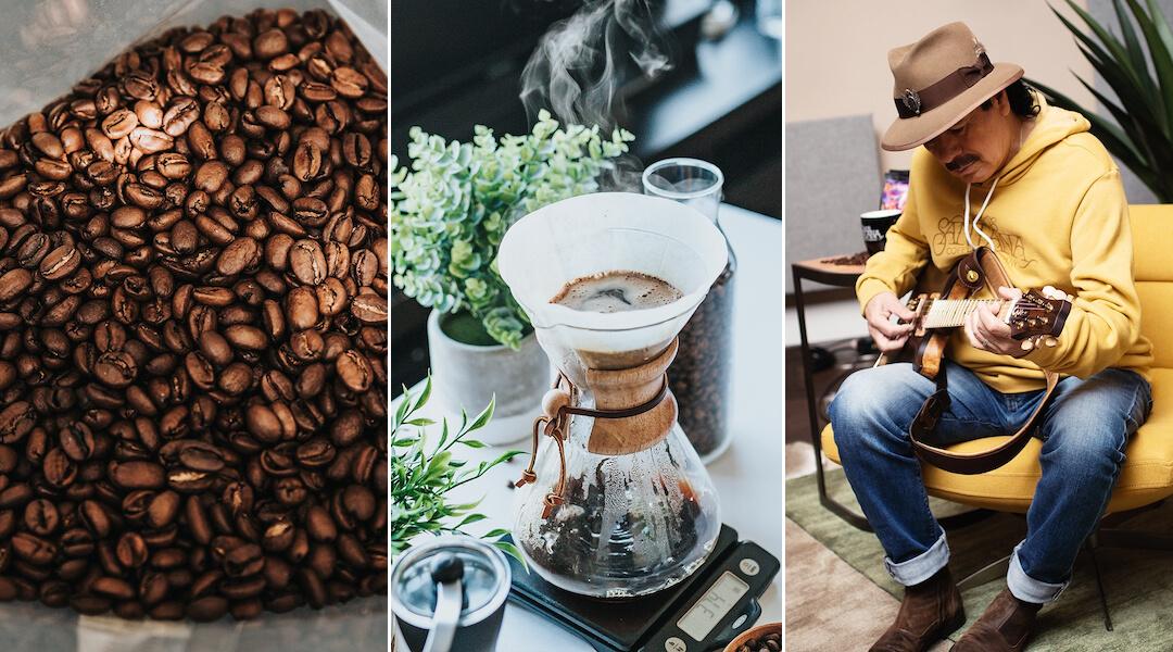 Carlos Santana - coffee