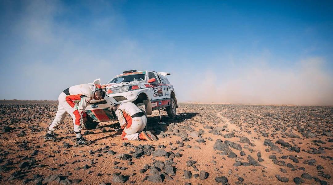 Dakar 2021 - első nap