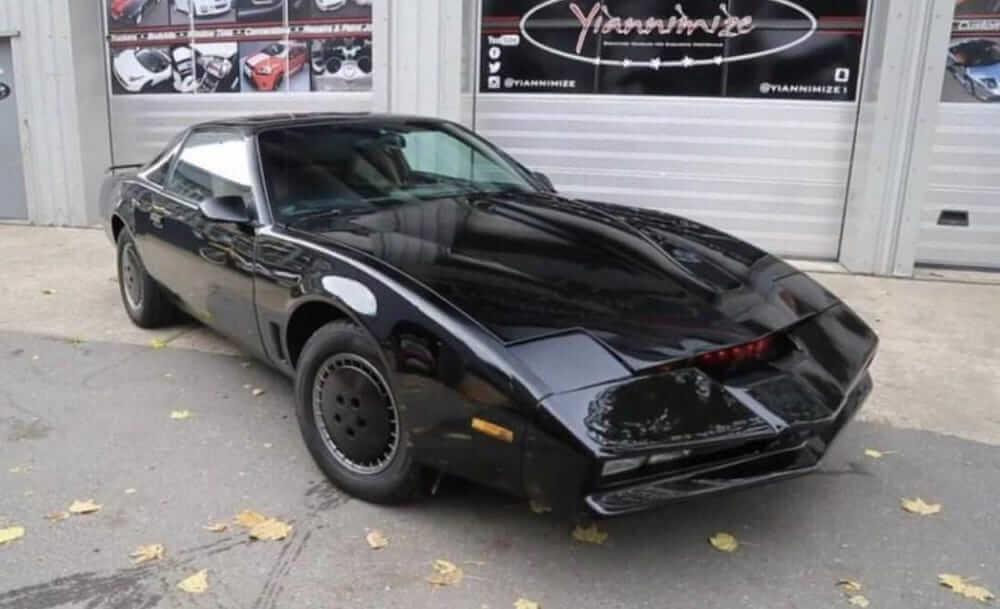 Knight Rider David Hasselhoff aukció
