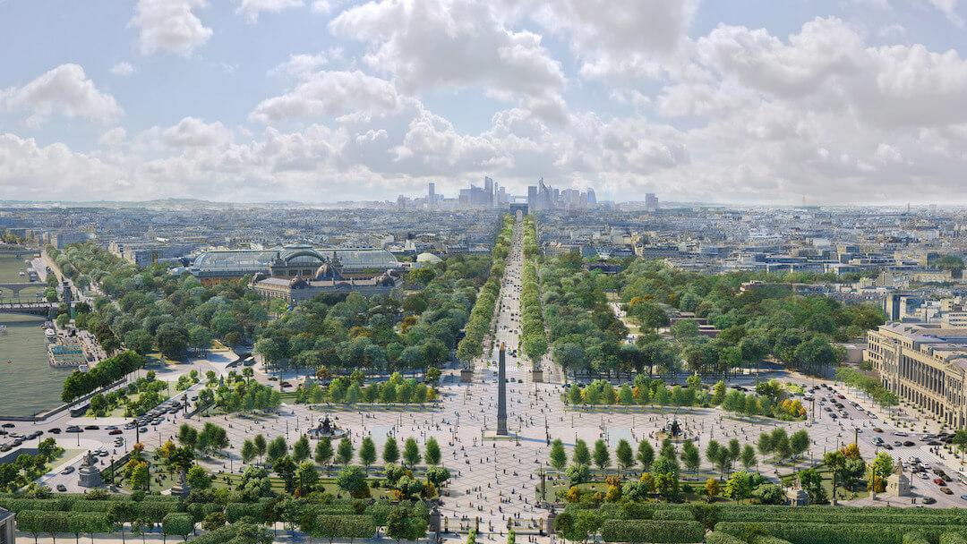 Párizs - fenntarthatóság - 2021