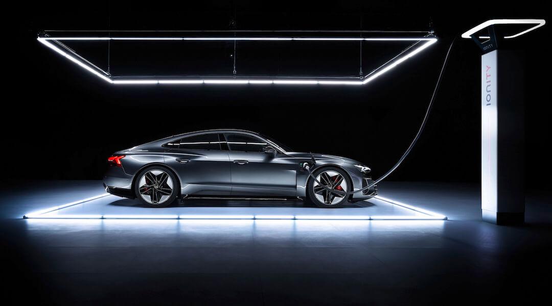Audi e-tron GT- premier