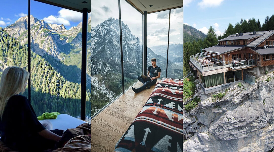 nyaralás a hegyekben egyetlen