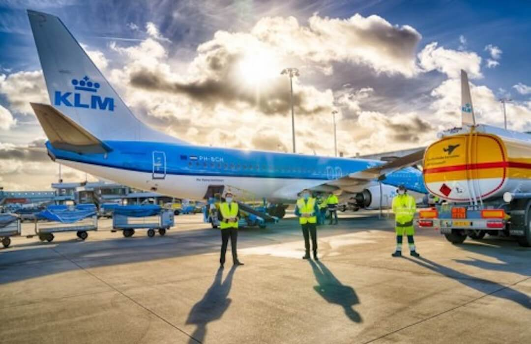 KLM - szintetikus kerozin
