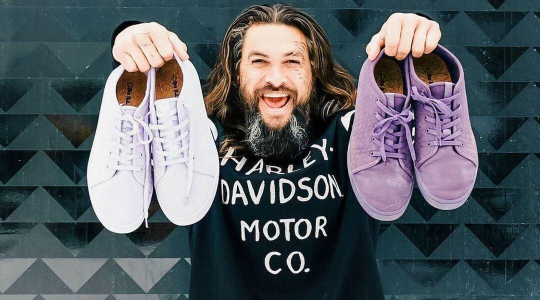 Jason Momoa - vegán - sneaker - sportcipő