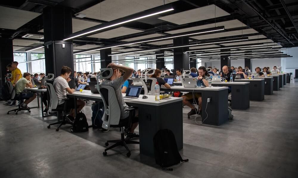 munkahelyi stressz - open office