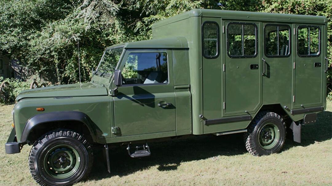 Fülöp herceg - Land Rover