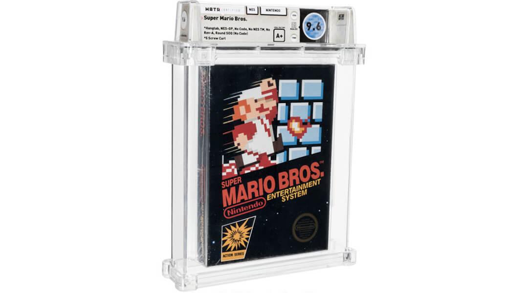 Nintendo - Super Mario - rekord