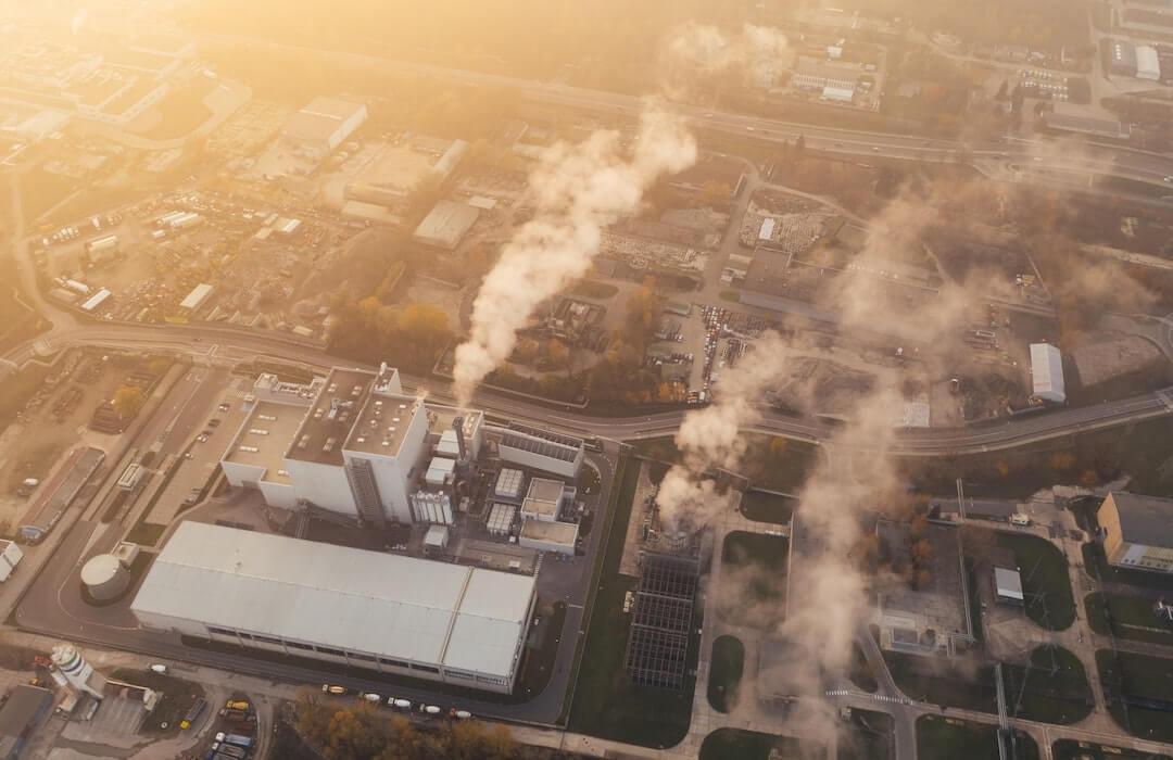 szén-dioxid - klímaváltozás - 2021