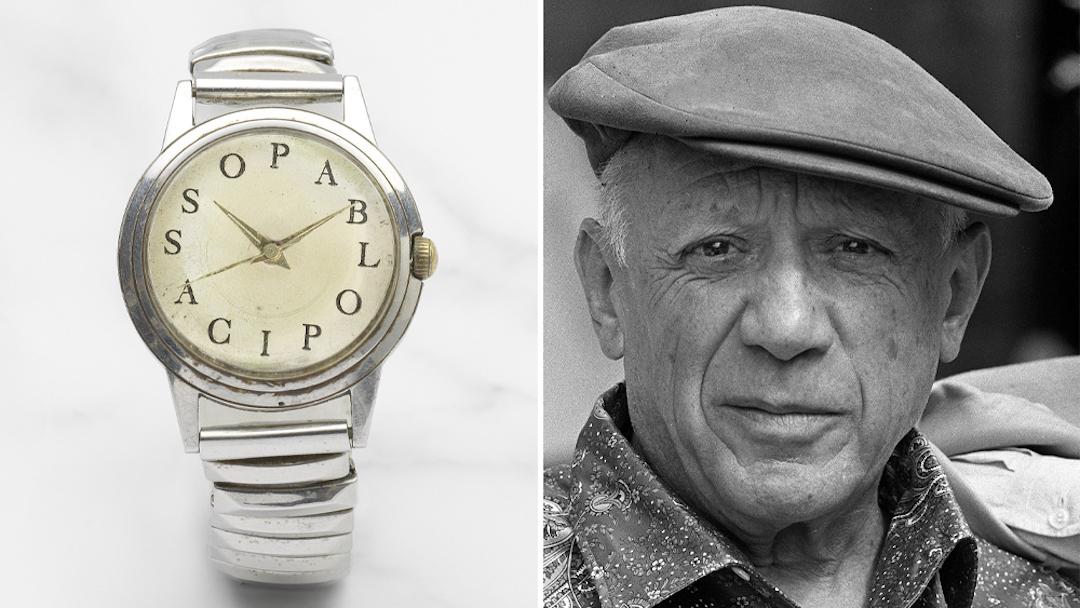 Picasso - férfi karóra - aukció