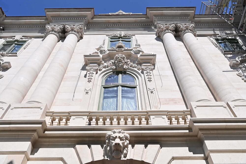 Budavári Palota - rekonstrukció - Budapest