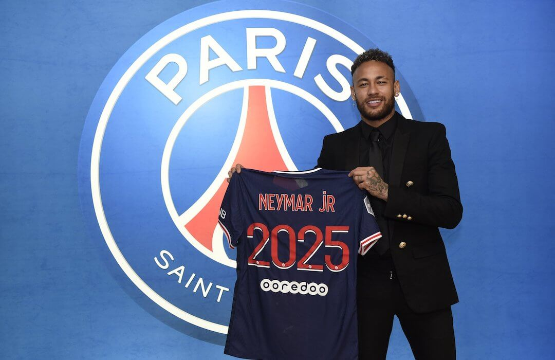 Neymar - PSG - 2021