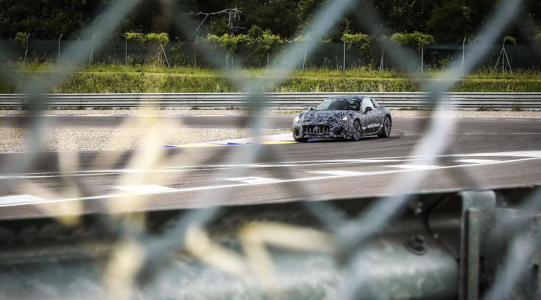 Maserati Gran Turismo - kémfotók