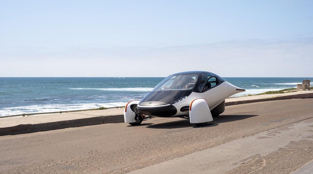 Apterea - Sol - napenergia - autó