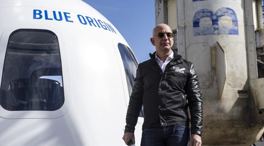 Blue Origin - Jeff Bezos - 2021