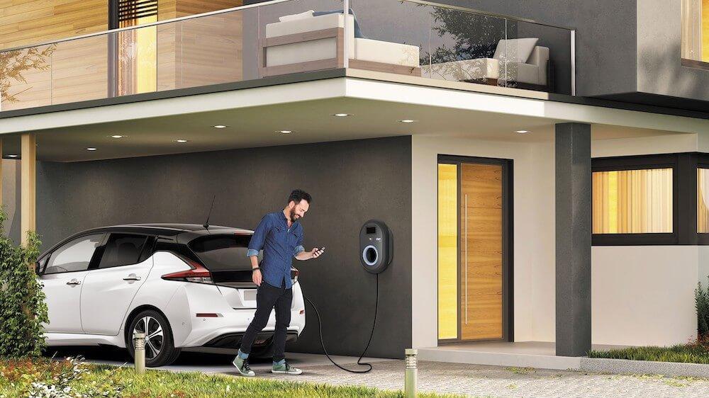 otthontöltés - elektromos autó - EON
