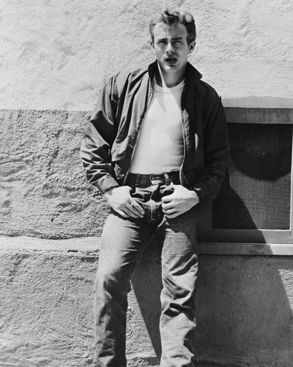 Fehér póló - James Dean