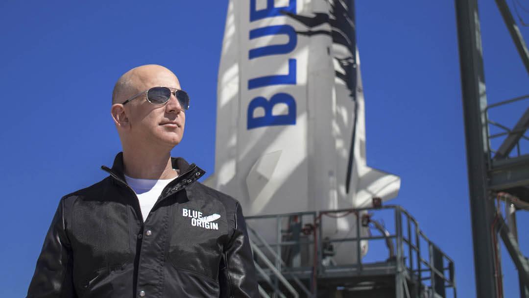 Jeff Bezos - Blue Origin - kockázat