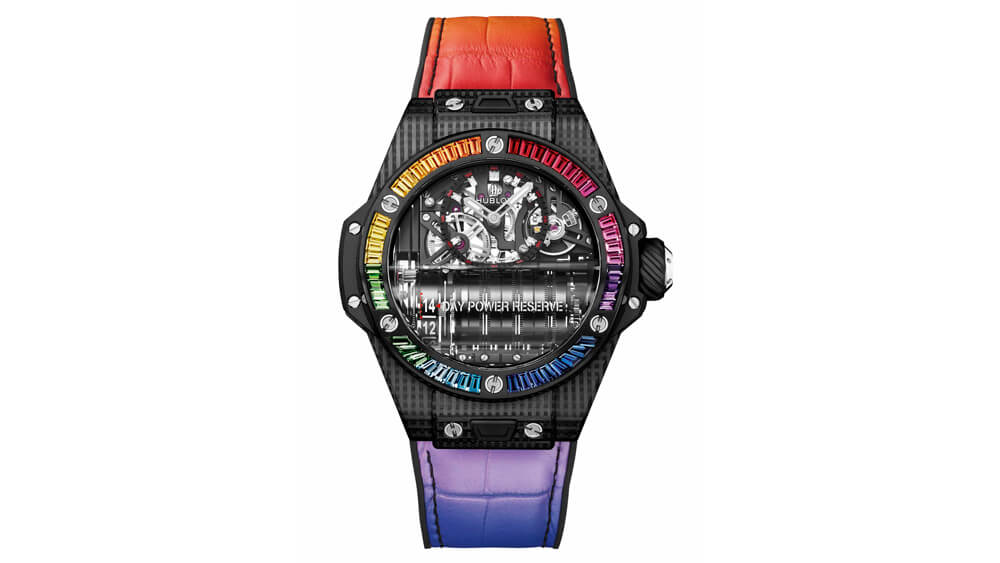 színes órák - férfi karóra - Hublot