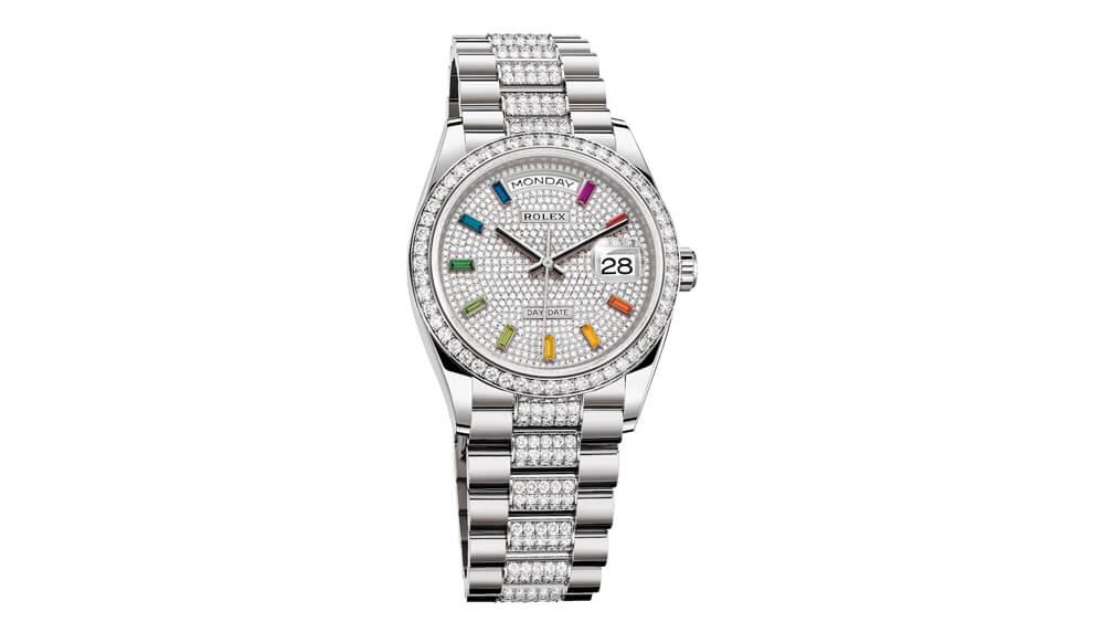 színes órák - férfi karóra - Rolex