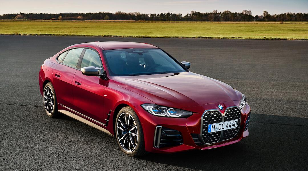 új BMW 4-es Gran Coupe - 2021