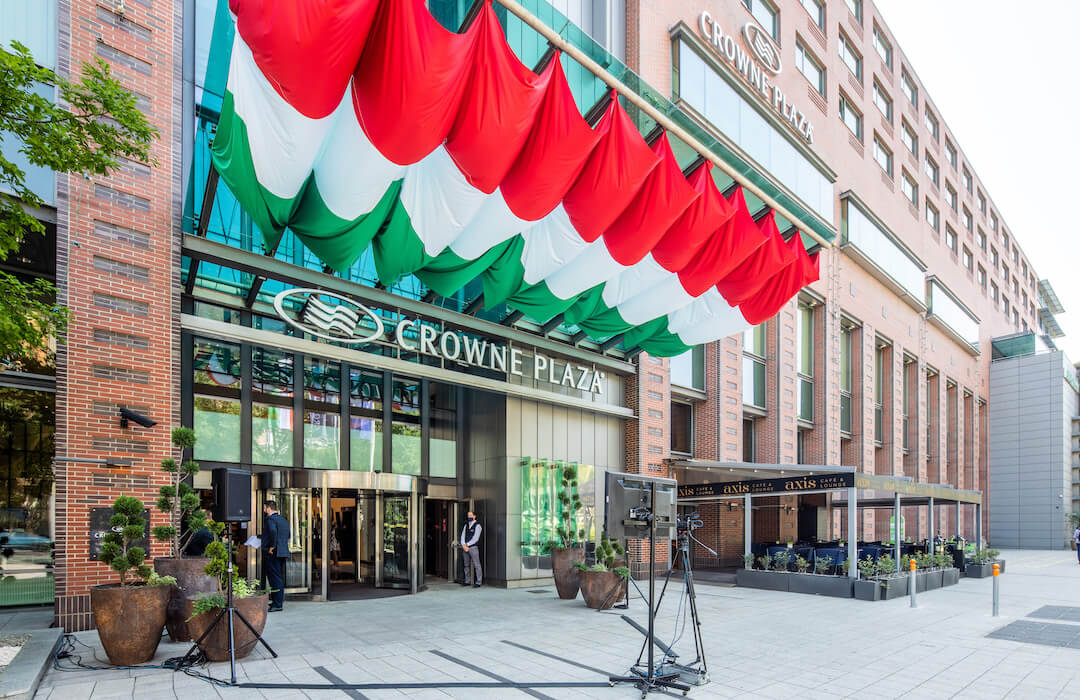 Crowne Plaza Budapest