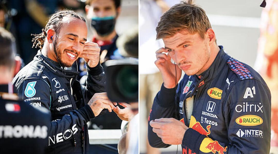 Hamilton - Verstappen - 2021