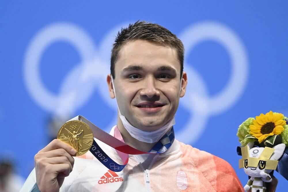 Milák Kristóf - olimpiai bajnok - tokiói olimpia