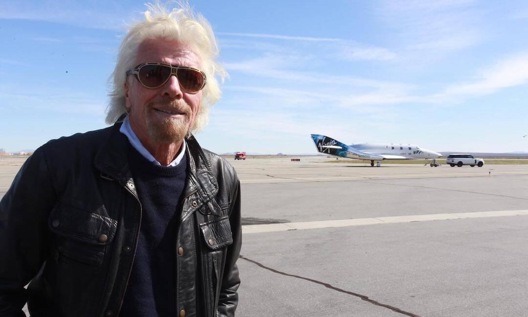 Richard Branson - Virgin Galactic - űrutazás