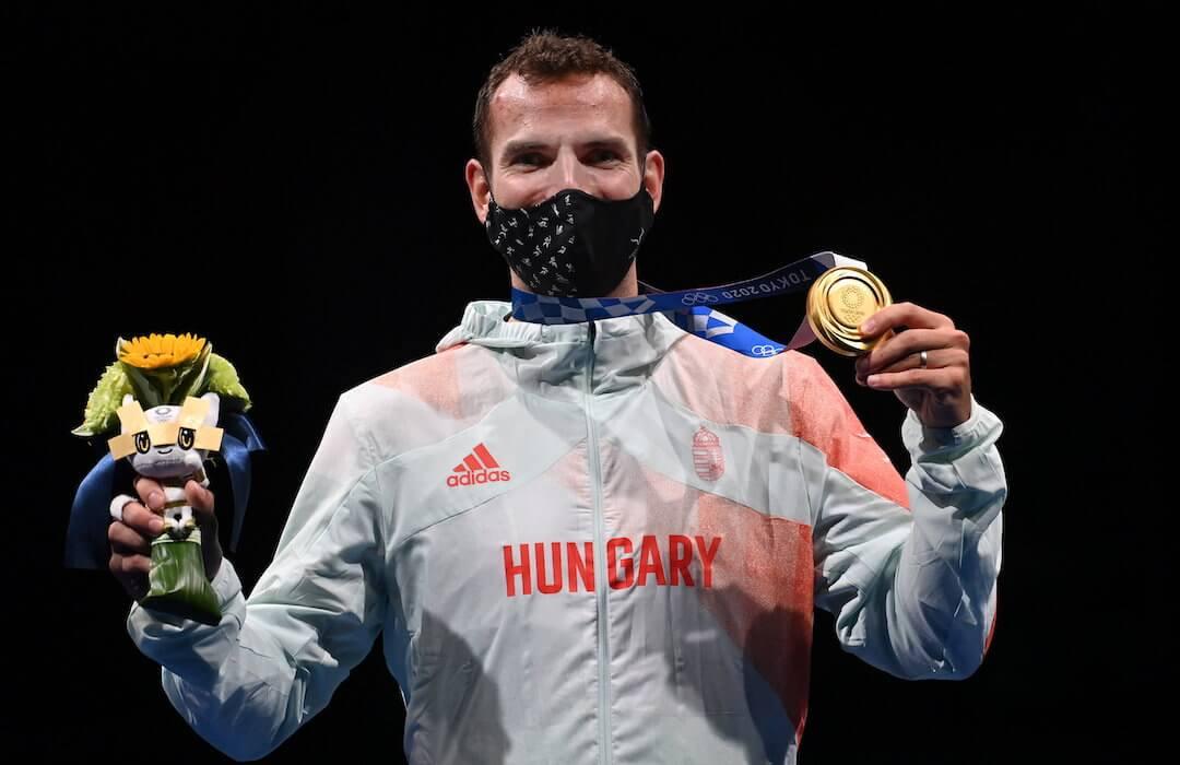 Szilágyi Áron háromszoros olimpiai bajnok - Tokió