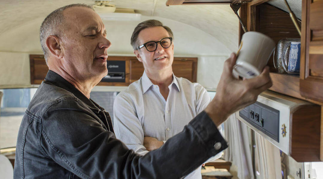 Tom Hanks - Airstream - lakókocsi
