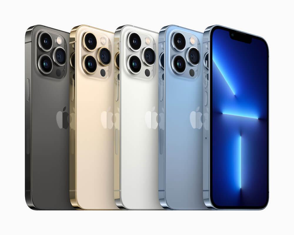 Apple iPhone 13 Pro - színek