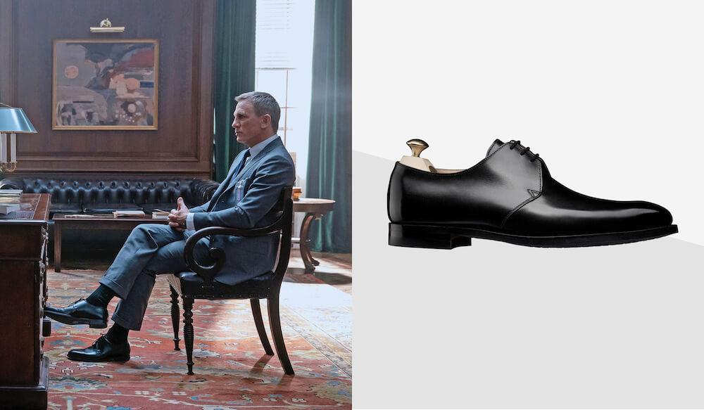 James Bond - férfi divat - férfi cipő - klasszikus stílus