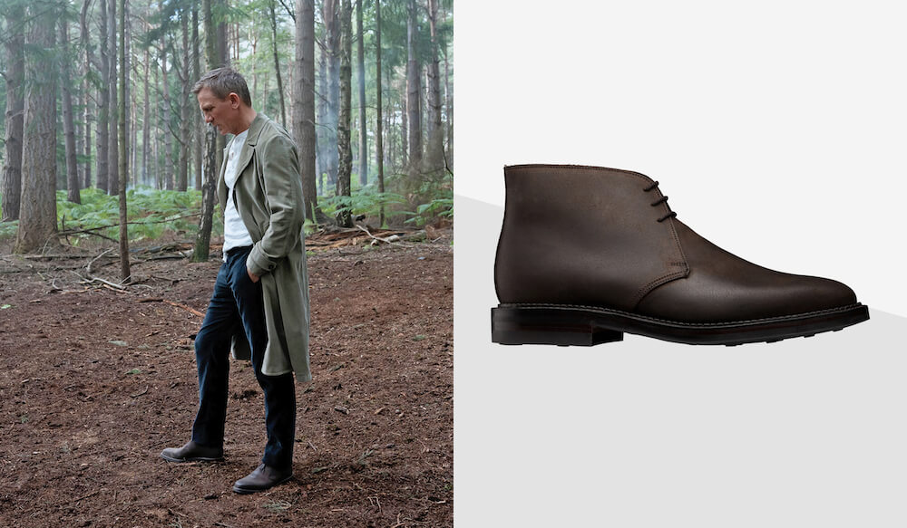 James Bond - férfi cipő - bakancs