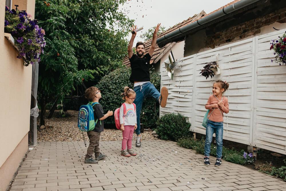 Sánta Dávid - szeptember - iskolakezdés