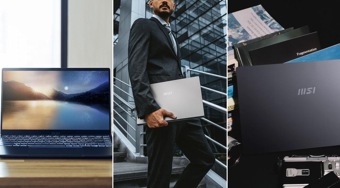 MSI üzleti laptop 2021